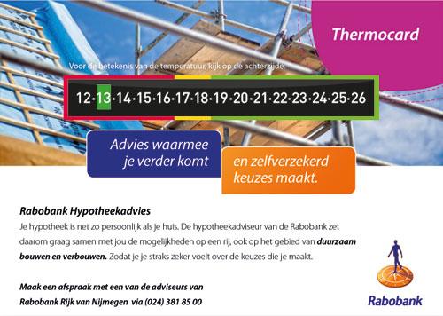 ThermoCard Rabobank